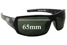 Dirty Dog Bubba Replacement Sunglass Lenses - 65mm Wide