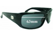 Dirty Dog Craver Replacement Sunglass Lenses - 63MM wide