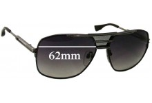 Dita Armada Replacement Sunglass Lenses - 62mm wide