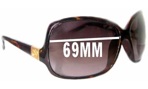 Electric Lovette Replacement Sunglass Lenses - 69mm wide