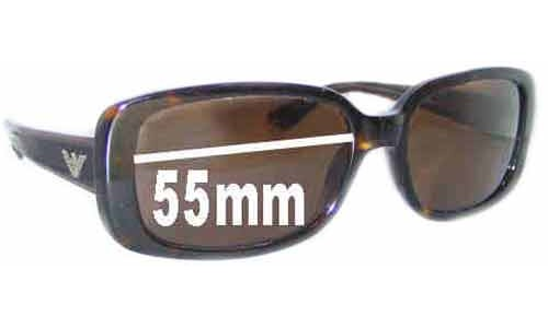 EMPORIO ARMANI 9547/S Replacement Sunglass Lenses - 55mm wide