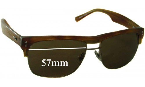 Fossil Unknown Replacement Sunglass Lenses - 57mm wide