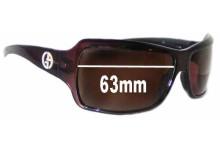 Giorgio Armani GA209 S Replacement Sunglass Lenses - 63mm wide