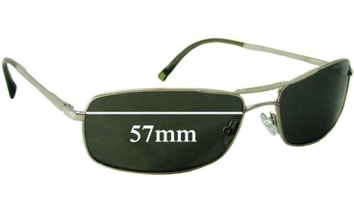 Giorgio Armani GA 400/S Replacement Sunglass Lenses - 57mm wide