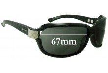 Sunglass Fix New Replacement Lenses for Gucci GG 2984/N/S - 67mm Wide