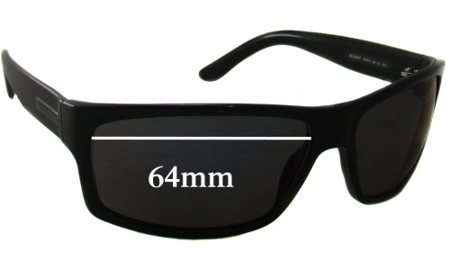 Gucci GG 1001/S Replacement Sunglass Lenses - 64mm wide