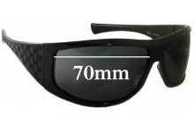Gucci GG1560/S Replacement Sunglass Lenses - 70mm wide