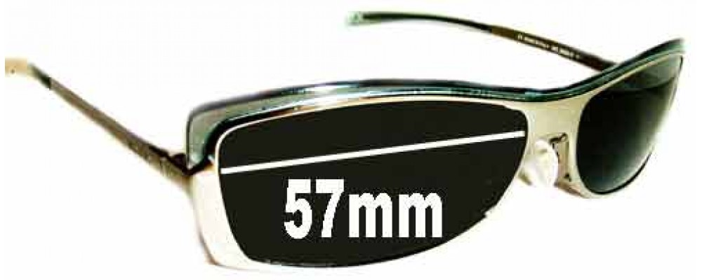 Gucci GG2689-S Replacement Sunglass Lenses - 57mm Wide