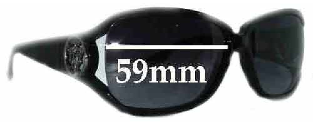 Gucci GG3059S Replacement Sunglass Lenses - 59mm wide