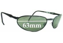 Killer Loop Pandemanio K1310 Replacement Sunglass Lenses - 63mm Wide