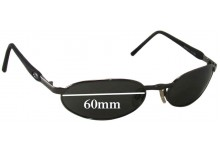 Killer Loop K1156 Payback Replacement Sunglass Lenses - 60mm wide