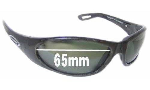 Legend Wishbone 2103 Replacement Sunglass Lenses - 65mm Wide