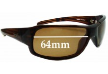Sunglass Fix New Replacement Lenses for Mangrove Jacks Layback - 64mm Wide