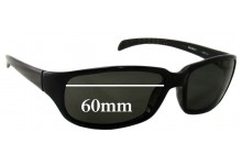 Mako Amazon 9490 Replacement Sunglass Lenses - 60mm Wide