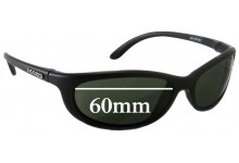 Mako Jet Replacement Sunglass Lenses - 60mm Wide