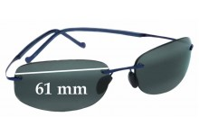 Maui Jim Honolua Bay MJ-516 Replacement Sunglass Lenses - 61mm Wide