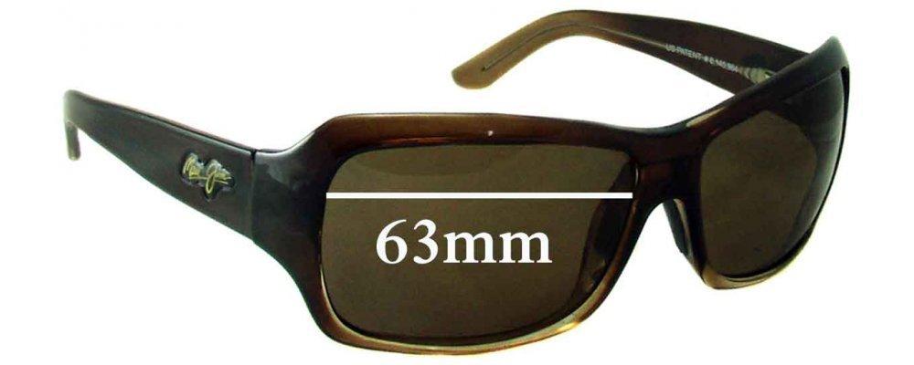da08cc8195 Maui Jim MJ111 Palms Replacement Lenses 63mm by The Sunglass Fix™