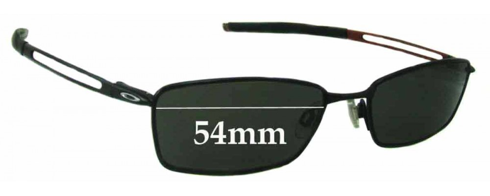 Oakley Coin Replacement Sunglass Lenses - 54mm wide
