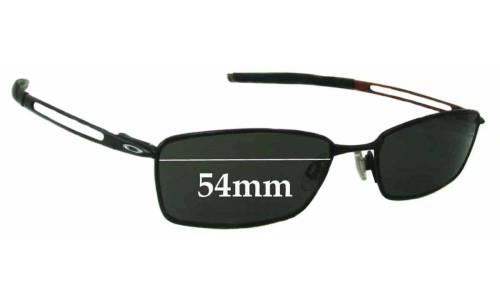 Oakley Coin New Sunglass Lenses - 54mm wide