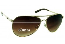 Oakley Daisy Chain 4062 Replacement Sunglass Lenses - 60mm Wide
