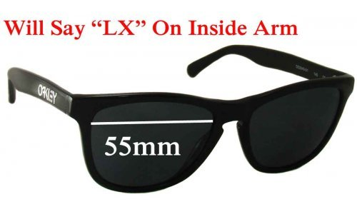 Oakley Frogskins LX Replacement Sunglass Lenses - 55mm Wide