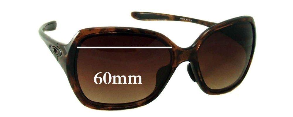 e63c4e1d7c3 Oakley Overtime Replacement Sunglass Lenses - 59mm - 60mm Wide