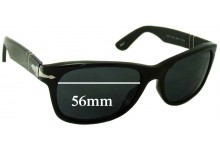 Persol 2953-S Replacement Sunglass Lenses - 56mm wide