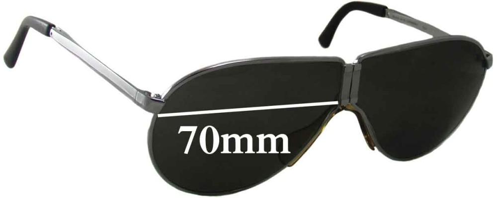 d03362a6012f Sunglass Fix Replacement Lenses for Carrera Porsche Design 5622 - 70mm  Wide- Sorry - We