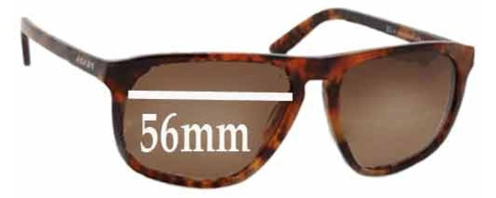 Prada SPR22L Replacement Sunglass Lenses - 56mm wide lens