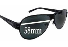 Prada SPR53I Replacement Sunglass Lenses - 58mm wide