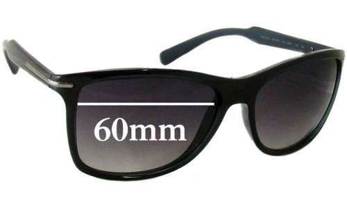 Prada SPR 10O Replacement Sunglass Lenses - 60mm Wide