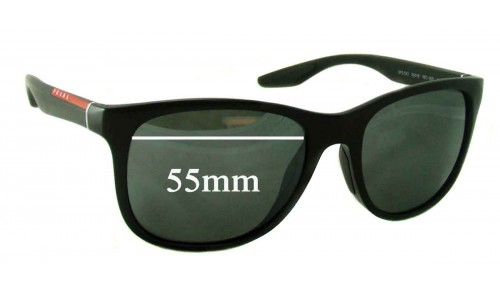 Prada SPS 03O Replacement Sunglass Lenses - 55mm wide