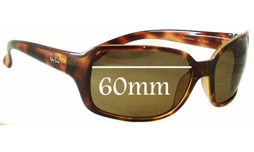 Sunglass Fix Replacement Lenses for Ray Ban RAJ1554 RC007 - 60mm wide
