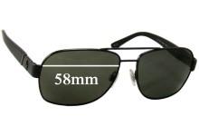 Ralph Lauren Polo 3064 Replacement Sunglass Lenses - 58mm wide