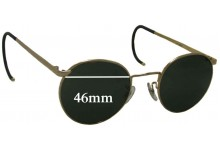 Randolph Engineering Replacement Sunglass Lenses- 46mm Wide
