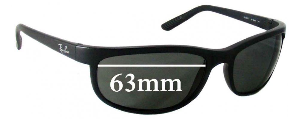 rb 2027  Ban RB2027 Replacement Sunglass Lenses - 63mm Wide