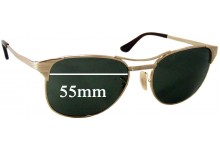 Ray Ban RB3429 Signet Replacement Sunglass Lenses - 55mm wide lenses