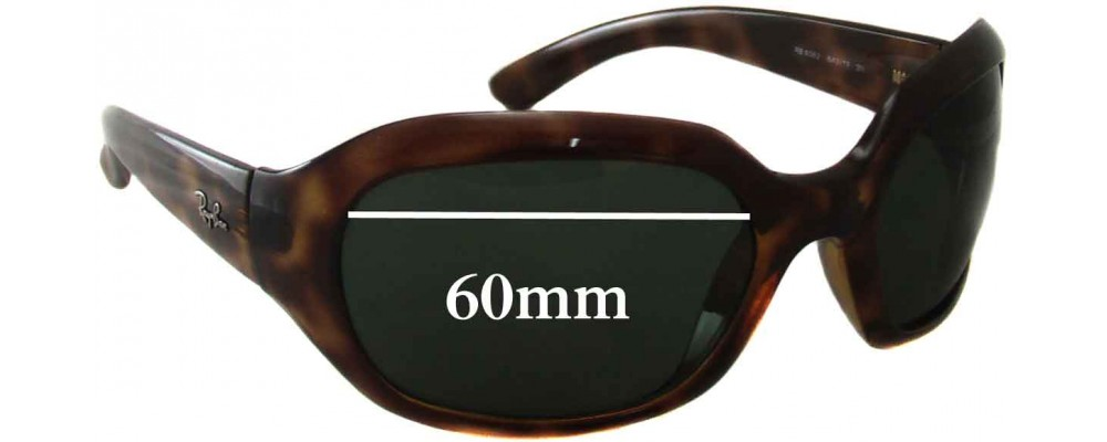 0bbaf2f05fb What Size Is Ray Ban 60 Mm