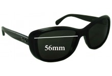 Ray Ban RB4174 Replacement Sunglass Lenses - 56mm wide