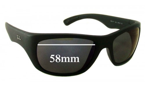 Ray Ban RB4177 Replacement Sunglass Lenses - 58mm Wide