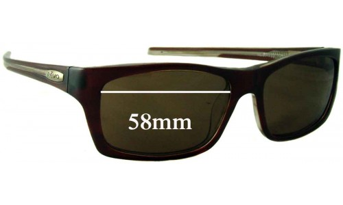 Revo RE2042-01 Replacement Sunglass Lenses - 58mm Wide