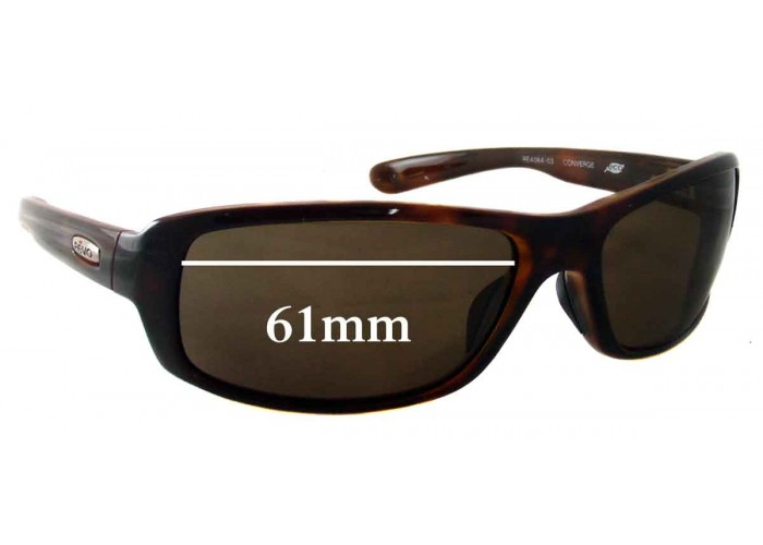 SFX Replacement Sunglass Lenses fits Revo RE3002 58mm Wide