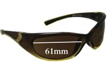 Rip Curl Winki Replacement Sunglass Lenses - 61mm Wide