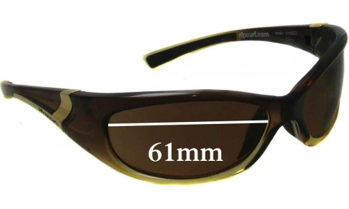 Rip Curl Winki Sunglass Replacement Lenses - 61mm Wide