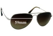Salt Vargas Replacement Sunglass Lenses - 59mm wide
