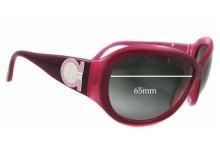 Salvatore Ferragamo 2095 Replacement Sunglass Lenses - 65mm Lenses