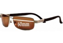Sunglass Fix Replacement Lenses for Serengeti PAOLO - 60mm wide