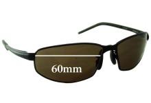 Sunglass Fix Replacement Lenses for Serengeti Granada - 60mm wide