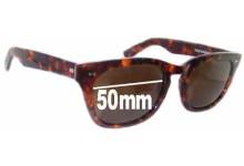 Shuron Sidewinder New Sunglass Lenses - 50mm Wide