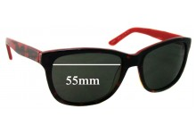 Spec Savers Sun Rx 108 Replacement Sunglass Lenses - 55mm wide